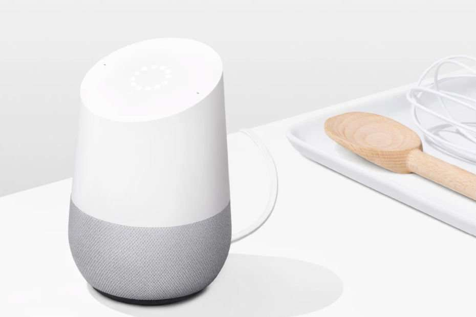 Enceinte-Google-Home