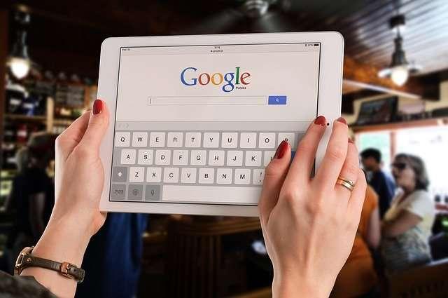google chrome sur tablette