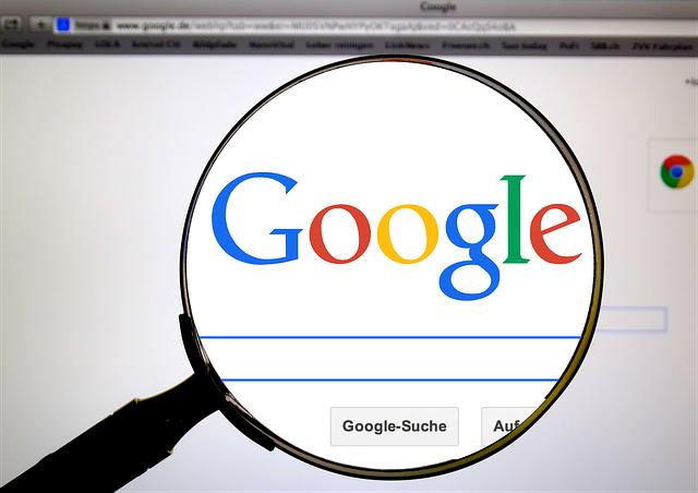 recherche google chrome