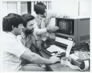 premier email - début de la digitalisation